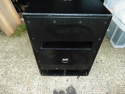 USED RCF SUB SUBWOOFER BASS SPEAKER 705-AS 700W WITH FALCON COVER. Active.