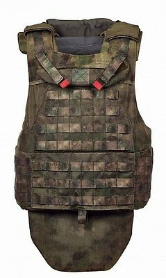 Russian Defender 2 MOLLE Body Armor Plate Carrier Mokh Pattern FSB