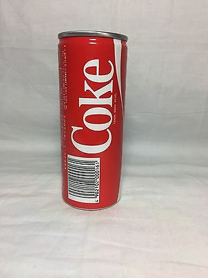 Coca Cola Vintage (250Ml) Slim Coke Can  1980's Full Can