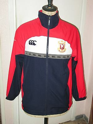 Veste survetement porté shirt worn FEDERATION MONEGASQUE DE RUGBY MONACO maillot
