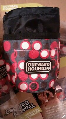 """OUTWARD HOUND Treat 'N Ball Bag - """"The Must Have Dog Accessory"""" - NEW"""
