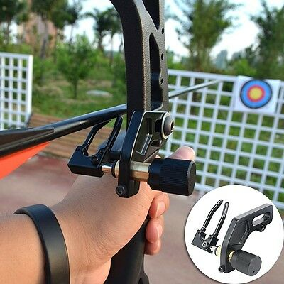 NEW Archery Arrow Rest Durable Alloy Compound Bow Capture Shooting Assistant
