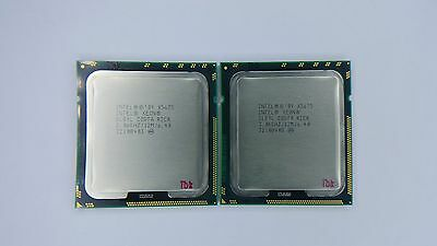 Matched pair of Intel Xeon X5675 3.06GHz Six Core SLBYL Processor w/Grease