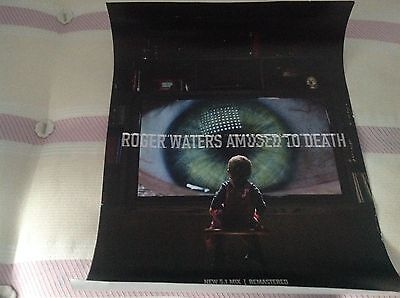 Roger Waters -Amused To Death- Mega Rare Official Record Co. Promo Poster