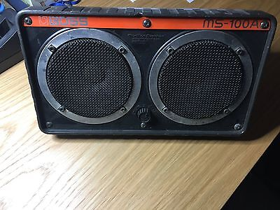 Roland Corporation Boss unpowered 100W monitor musical speaker MS100A