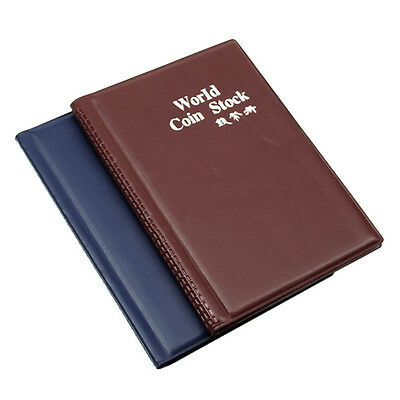 Money Penny Pockets Collection Storage Album Collecting 120 Coin Holders Selling