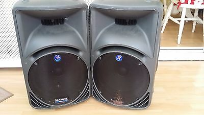 Mackie SRM450 Powered Active PA Speakers