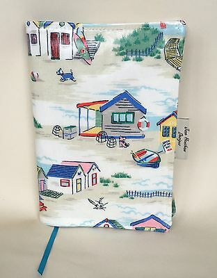A5 Diary Cover,Week to view A5 diary cover,journal Cover,Cath Kidston Beach Huts