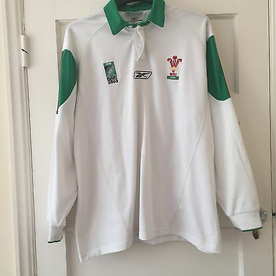 2003 Rugby World Cup Wales Top Size XL