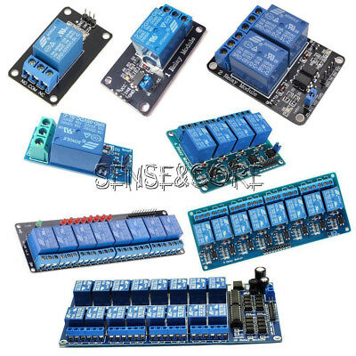 1/2/4/6/8 Channel 5V Relay Module Board Optocoupler LED for Arduino PiC ARM AVR