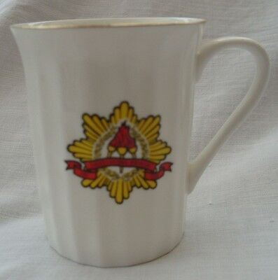 Fire Services National Benevolent Fund Mug in Bone China by Polly Anna