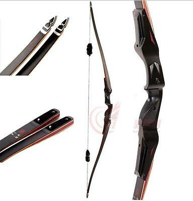 Takedown Recurve Bow 25 30 35 40 lb Right Handed by IRQ Archery & Bow Stringer