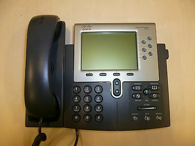 Cisco CP-7962G VoIP IP LCD Display Business Phone - 7962 - 7962G
