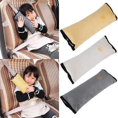 Cushion Vehicle Car Seat Belt Baby Kid Shoulder Pad Cover Pillow Head Support XC