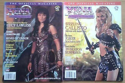 Selection of individual Xena Warrior Princess The Official Magazine US edition