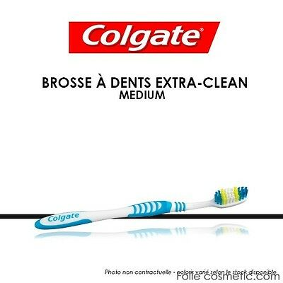 COLGATE - Brosse à dents Extra Clean - Medium