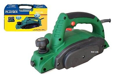 Heavy Duty 710W 82Mm Electric Wood Planer File Sander In Case Warranty