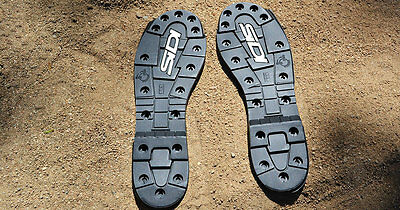 SIDI Crossfire SRS 2 Sole Set EU 43 44 UK 9 9.5 Two Sets of Soles And 10 Screws