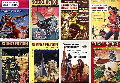 Classic Vintage Science Fiction PDF Magazines Ultimate Collection on DVD