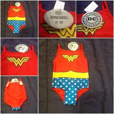 Wonder Woman Logo Girls Swimming Costume Girl Swim Suit Swimsuit Cars trunks