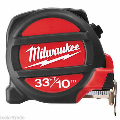 Milwaukee 10m/33ft Measuring Tape with Magnetic Tip - 48225233