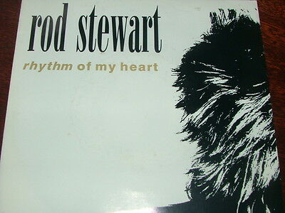 "Rod Stewart - Rhythm of my Heart  7"" Vinyl Single VG Condition (21)"