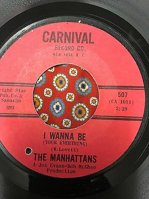 The Manhattans  I wanna be your everything Carnival Northern Soul