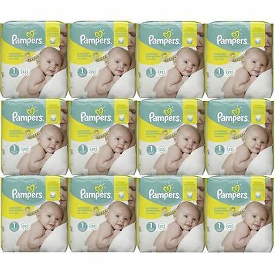 Pampers New Baby taille 1 New Born 2-5kg 264 Couches, PREMIUM Protection