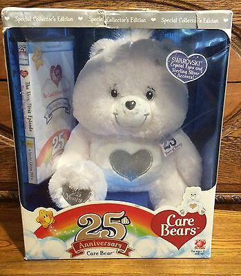 Care Bear 25th Anniversay Edition with DVD New in Box