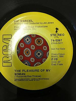 Vic Marcel The Pleasure of my women RCA  Northern Soul