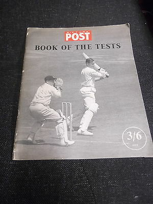 The Picture Post Book of the Tests 1956 by Denzil Batchelor