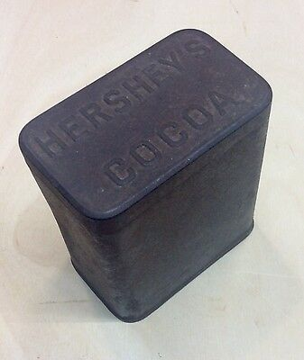 Antique Early 1900's HERSHEYS COCOA TIN