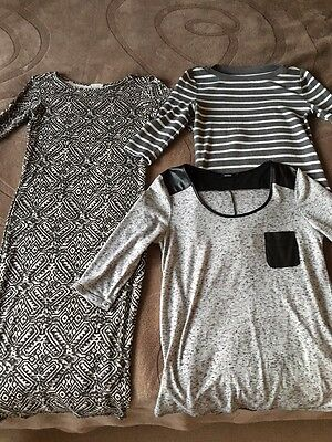 Bundle Of Clothes Size 8-10. River Island Bodycon Dress, Tops