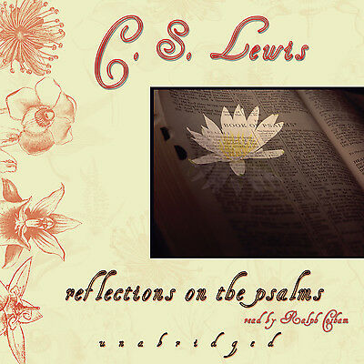 Reflections on the Psalms by C. S. Lewis CD 2005 Unabridged