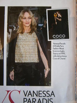 VANESSA PARADIS Lily Rose Depp CUTTINGS PACK #7 Full Pages Only FROM THE WORLD