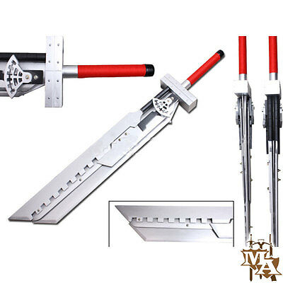 Game FINAL FANTASY 7AC Cloud Strife Broadsword Sword Disassembly Cosplay Props