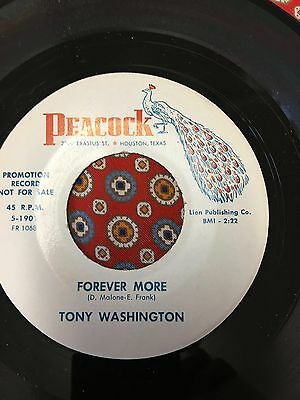Tony Washington Forever More Peacock Northern Soul