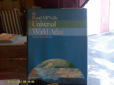 Rand McNally Universal World Atlas New Revised Edition Hardcover