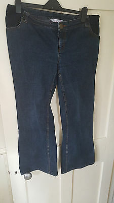 Under the bump Maternity Jeans. Red Herring at Debenhams Size 16