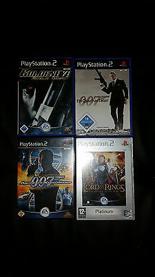 playstation 2 ps2 spiele set 007 james bond eur 2 51. Black Bedroom Furniture Sets. Home Design Ideas