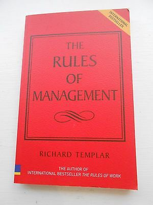 The Rules Of Management Book