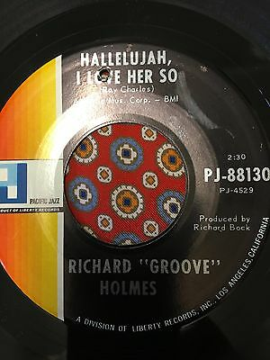 Richard Groove Holmes Hallelujah i love her so  Pacific Jazz  Northern Soul Mod