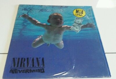 NIRVANA-Nevermind(LP)1991 SUB POP 24425 SPAIN+INSERTS NM/EX-