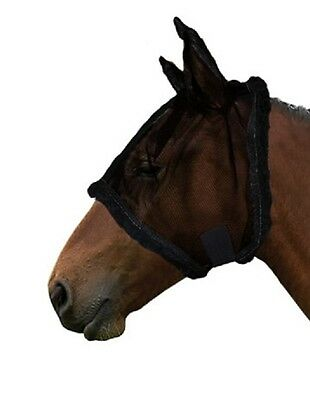 No Fuss Fly Mask by Gallop Equestrian. Pony Cob,Full in black or blue.
