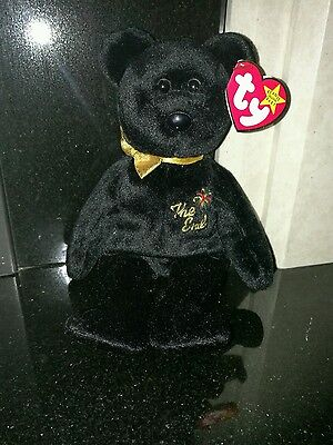 The End TY Beanie Baby Rare