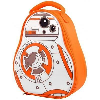 Star Wars - BB-8 3D Insulated Lunch Bag - New & Official Disney / Lucasfilm