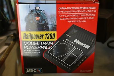 MRC Railpower 1300 Powerpack for HO & N Trains - NEW