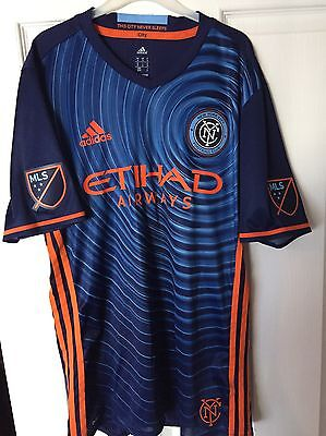 New York City FC Authentic Adidas Away Shirt 16/18 MLS