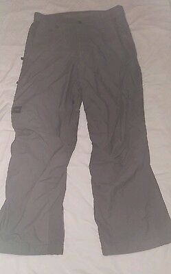 helly hansen snowboard or ski trousers size large. Grey. Helly tech performance