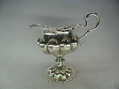 16th Century Style Sterling Solid Silver Cream Jug, Chester 1911